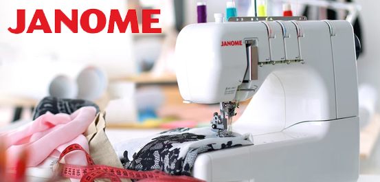 Janome Sewing, Overlocker and Embroidery Machines